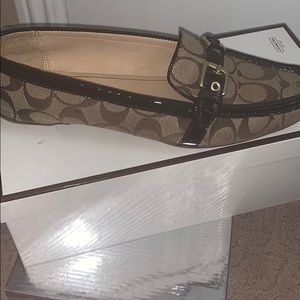 Coach loafers in great condition